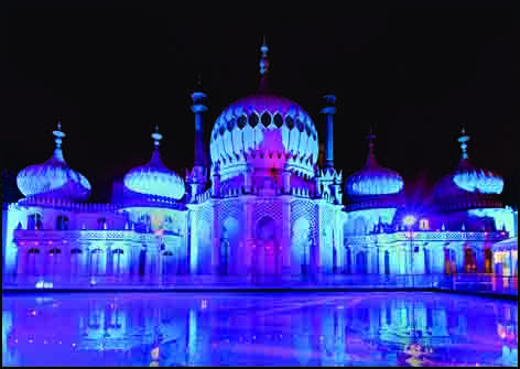 Brighton Pavilion and Ice Rink Card