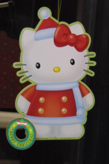 Kitty-Santa