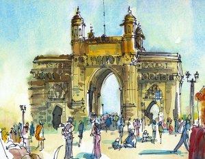 Mumbai Sketch 1
