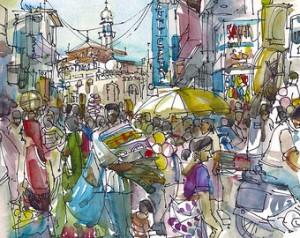 Mumbai Sketch 2