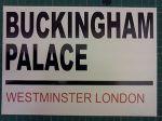 buckingham palace sign