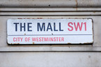 The Mall SW1 Street Sign