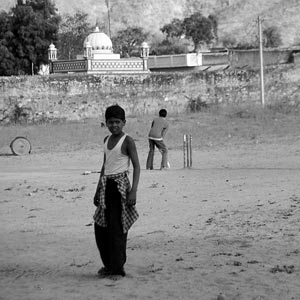 Playing-Cricket-Pushkar