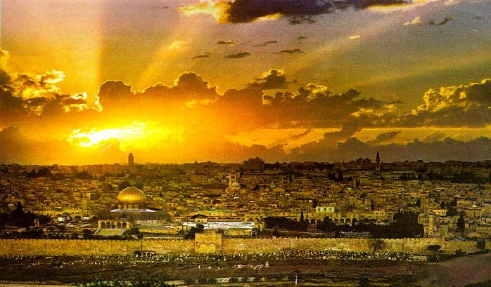 Jerusalem-sunset