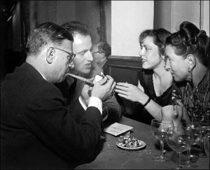 de Beauvoir Cafe de Flore