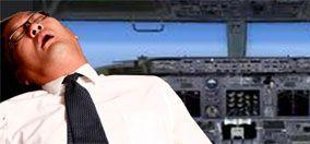 pilot asleep