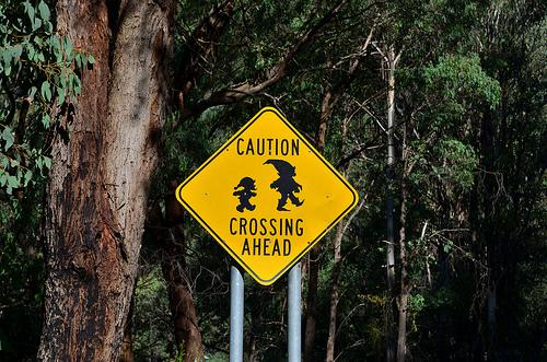 Gnome crossing