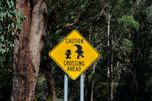 Gnome crossing