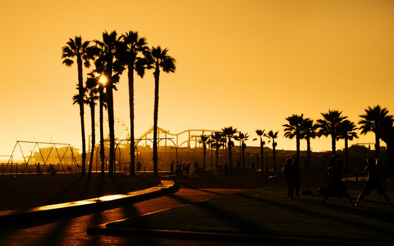 Santa-Monica-Sunset