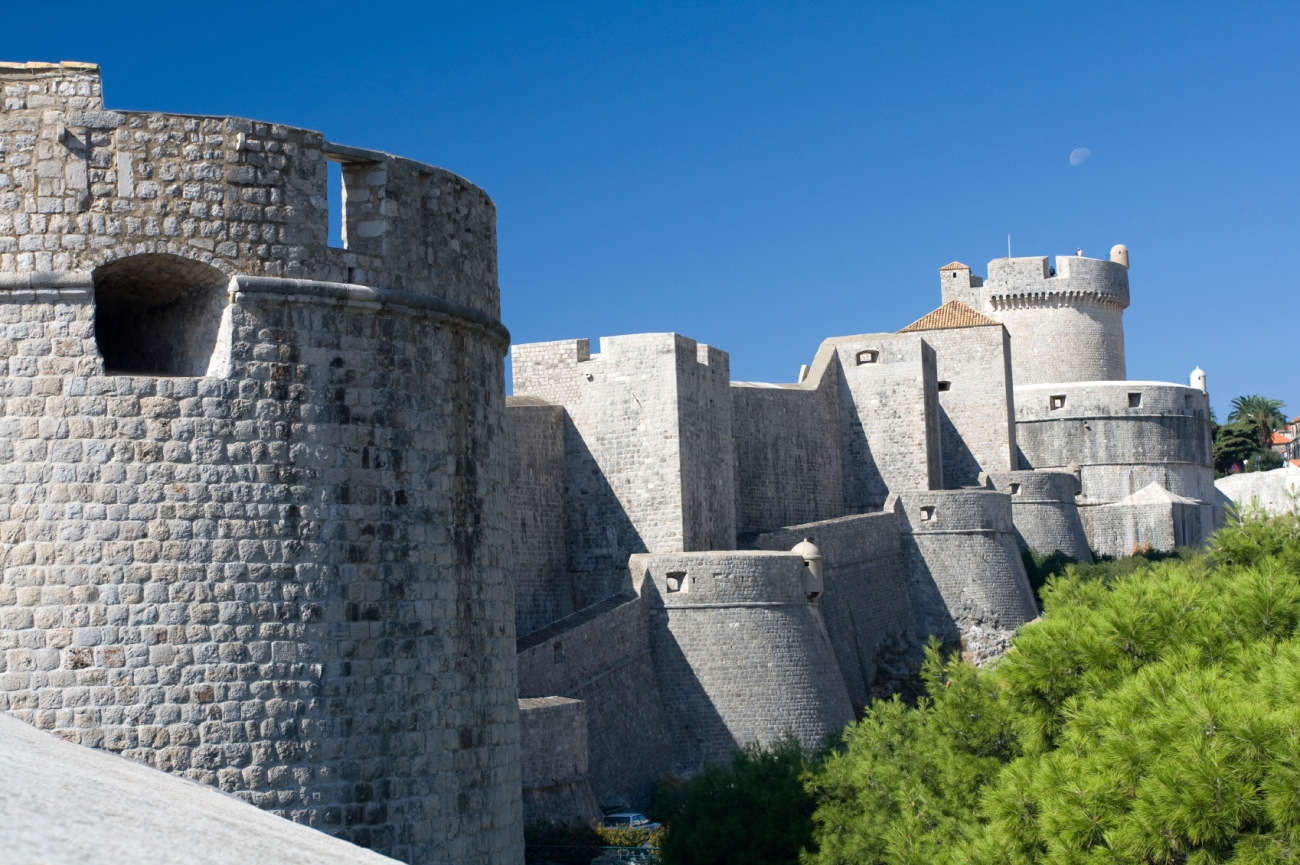 walls dubrovnik