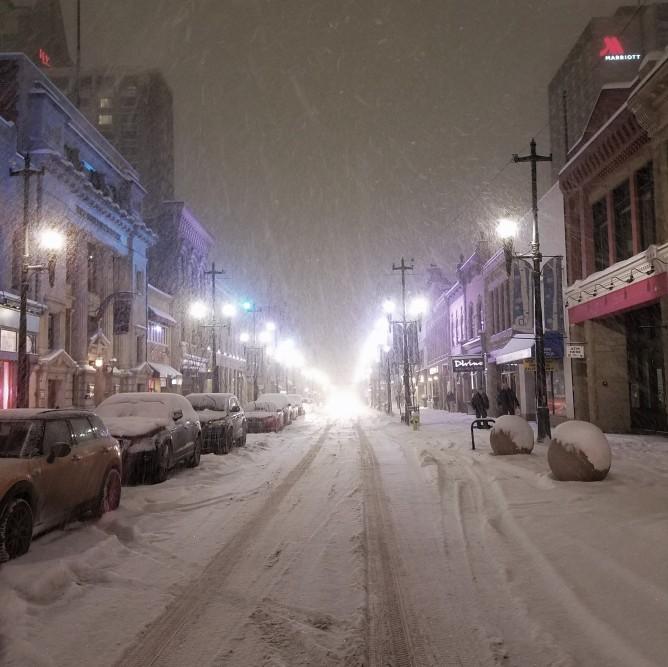 Calgary snow